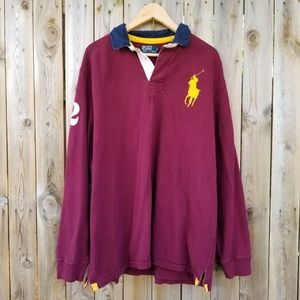 Polo By Ralph Lauren Vintage Rubgy Shirt